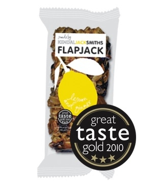 KendalJackSmiths Handmade Artisan Flapjack Lemon and Ginger