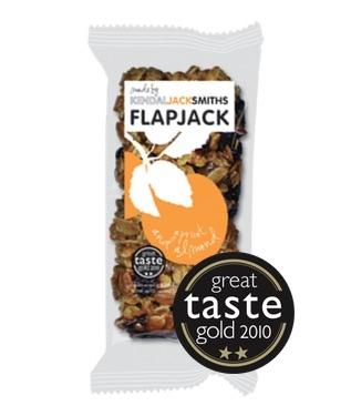 Handmade Artisan Flapjack Apricot and Almond KendalJackSmiths