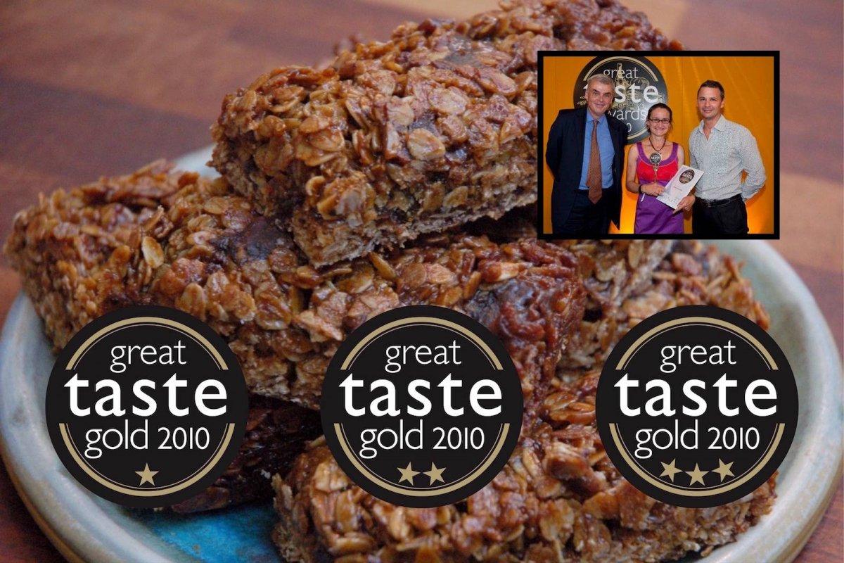 Great Taste Award winning handmade flapjacks made in Kendal slideshow1